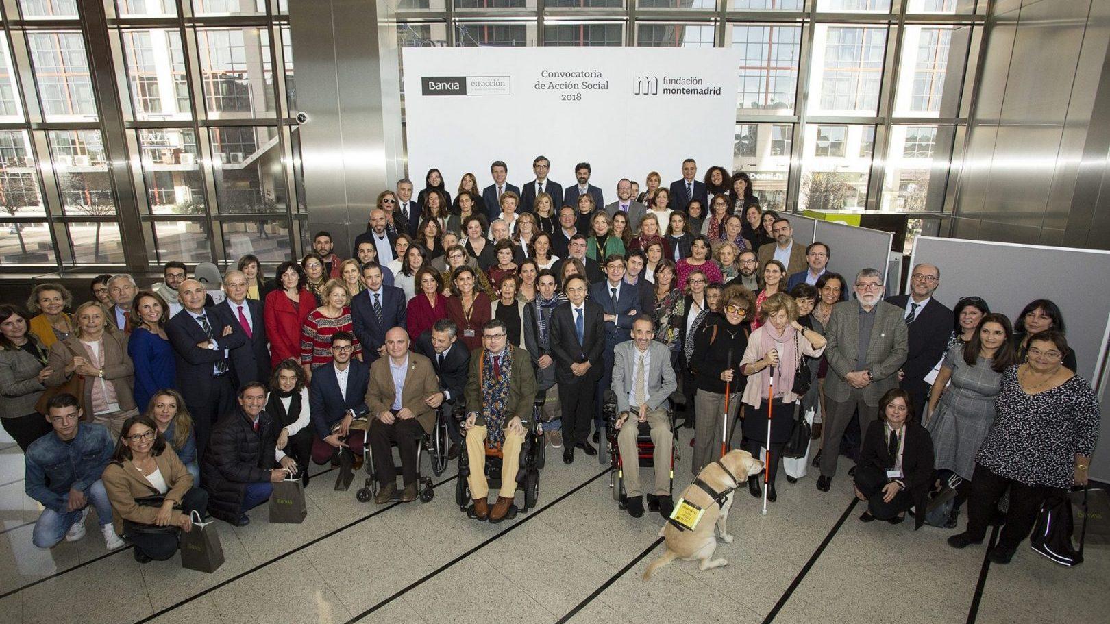Fundación Montemadrid y Bankia apoyan el trabajo de SAICON