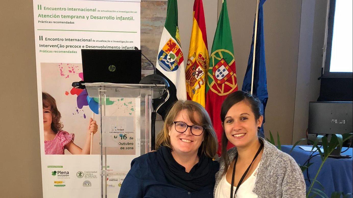 Asistencia al II Encuentro internacional de Atención Temprana
